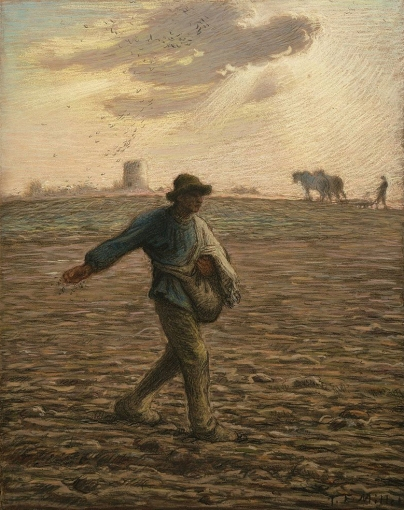 Millet,TheSower