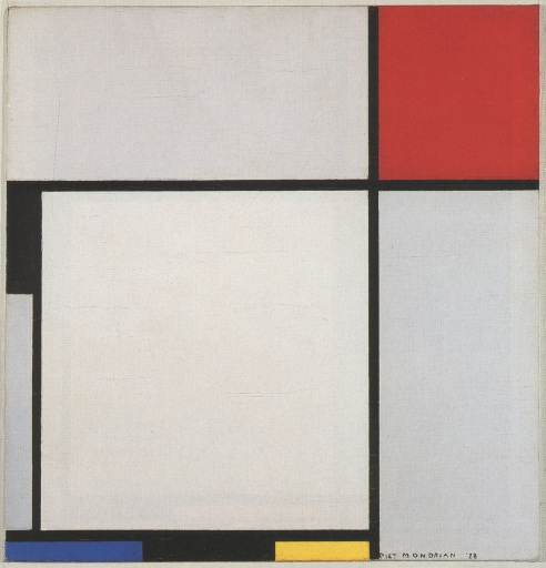 Mondrian,Composition(1928)