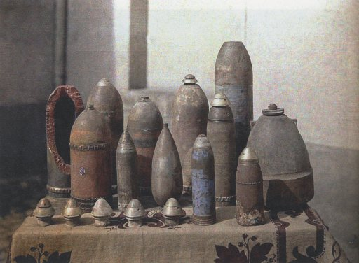 UnexplodedGermanShells,Reims,1917